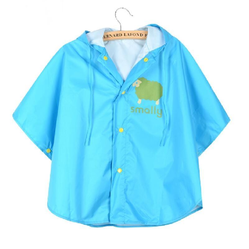 Children s Cloak Poncho Lovely Baby Rain Cape Parent child Poncho Bike Raincoats