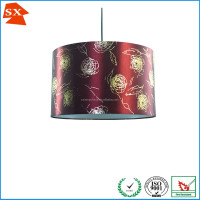 Oriental country wedding decoration romantic red roses lighting shade