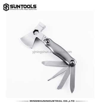 Mini Functional tools for Outdoor activities Axe hammer