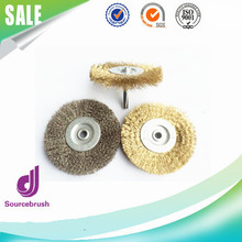 Factory Brass Steel Wire Brush Polishing Wheels Full kit for Dremel Rotary Tools