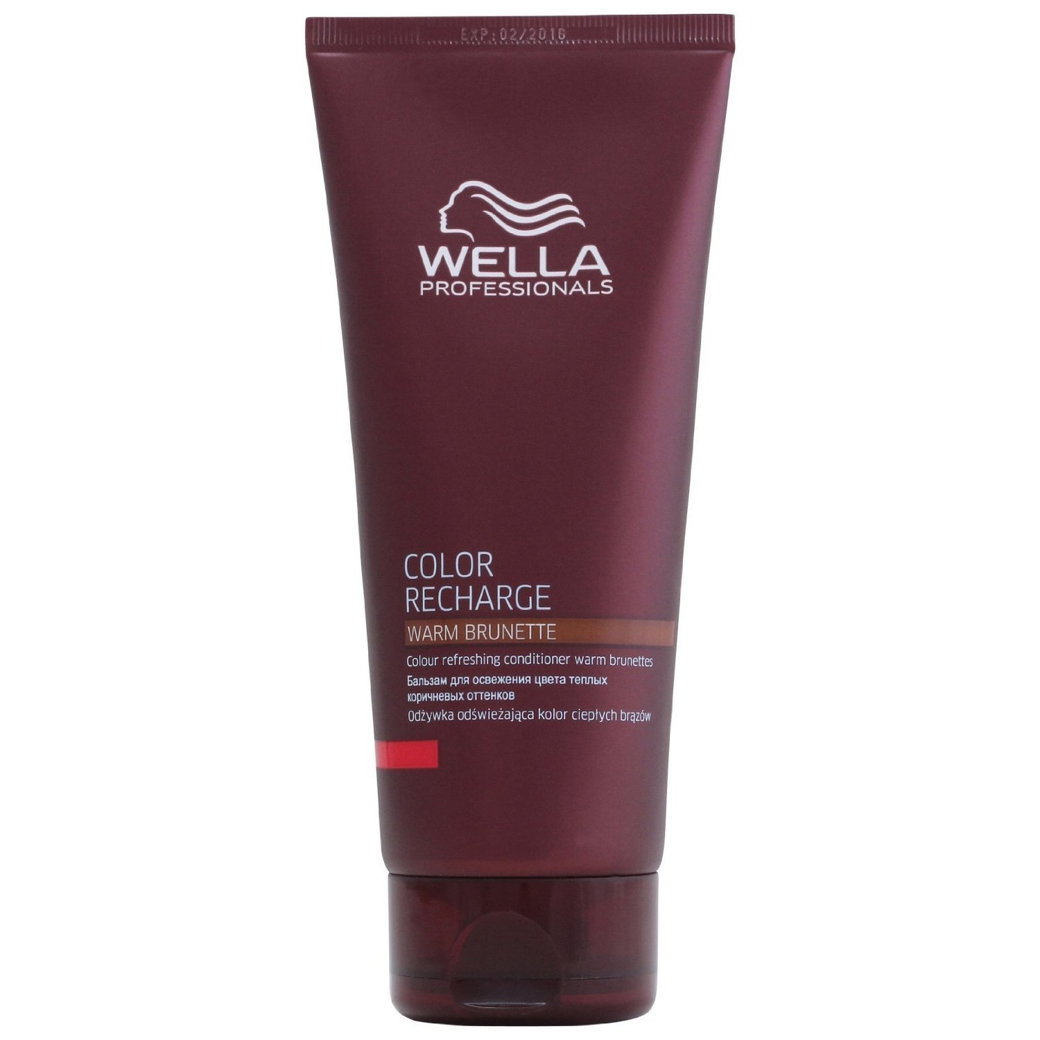 Depositing Machine Work Wella Color Recharge Red Conditioner 200ml By Beautycenter