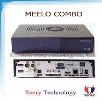 Mini MEELO Combo 1080P Full HD DVB S2/TS/C Trip tuner 1200Mhz 1GB RAM 4GB ROM Digital Satellite Receiver ME ELO+ Combo