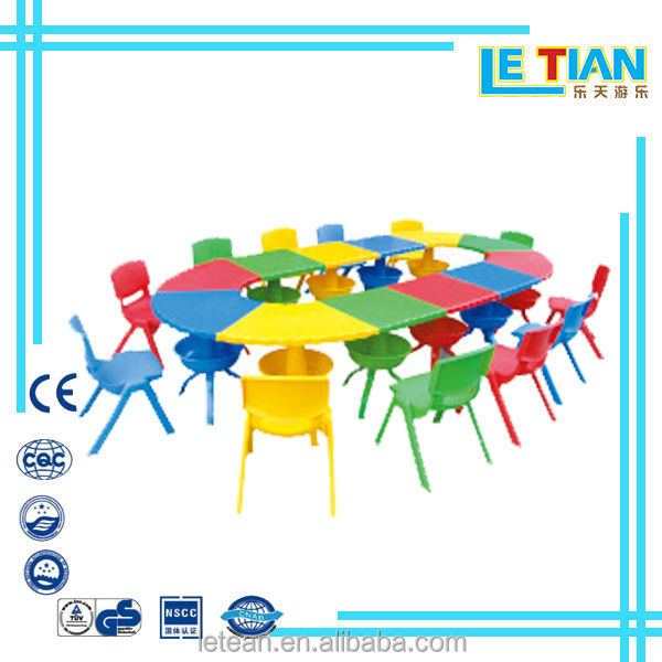 hot selling school desk and chair toy table and chairs for children plastic toys(LT-0153C)