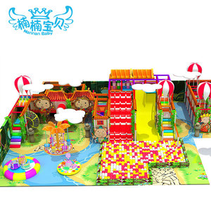 Kids indoor playsets with fitness equipments and swing