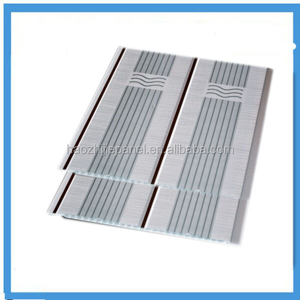 pvc ceiling panel wood design & decorative pvc panel in china ,laminated pvc ceiling panel