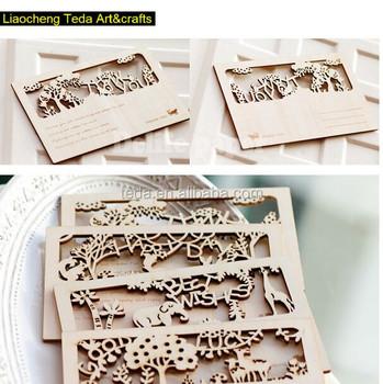 2015teda laser engraving wooden post cards buy wood engraved 2015teda laser engraving wooden post cards colourmoves