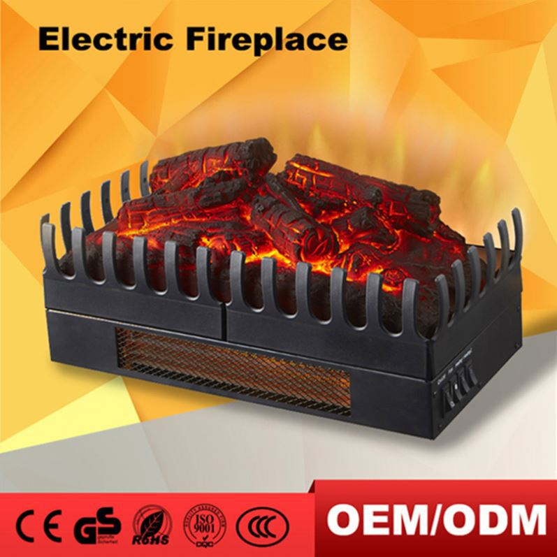 Infrared 220V Electric Fireplace Insert
