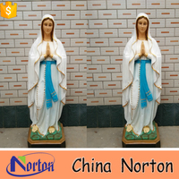 outdoor fiberglass custom virgin mary statue NTRS418S
