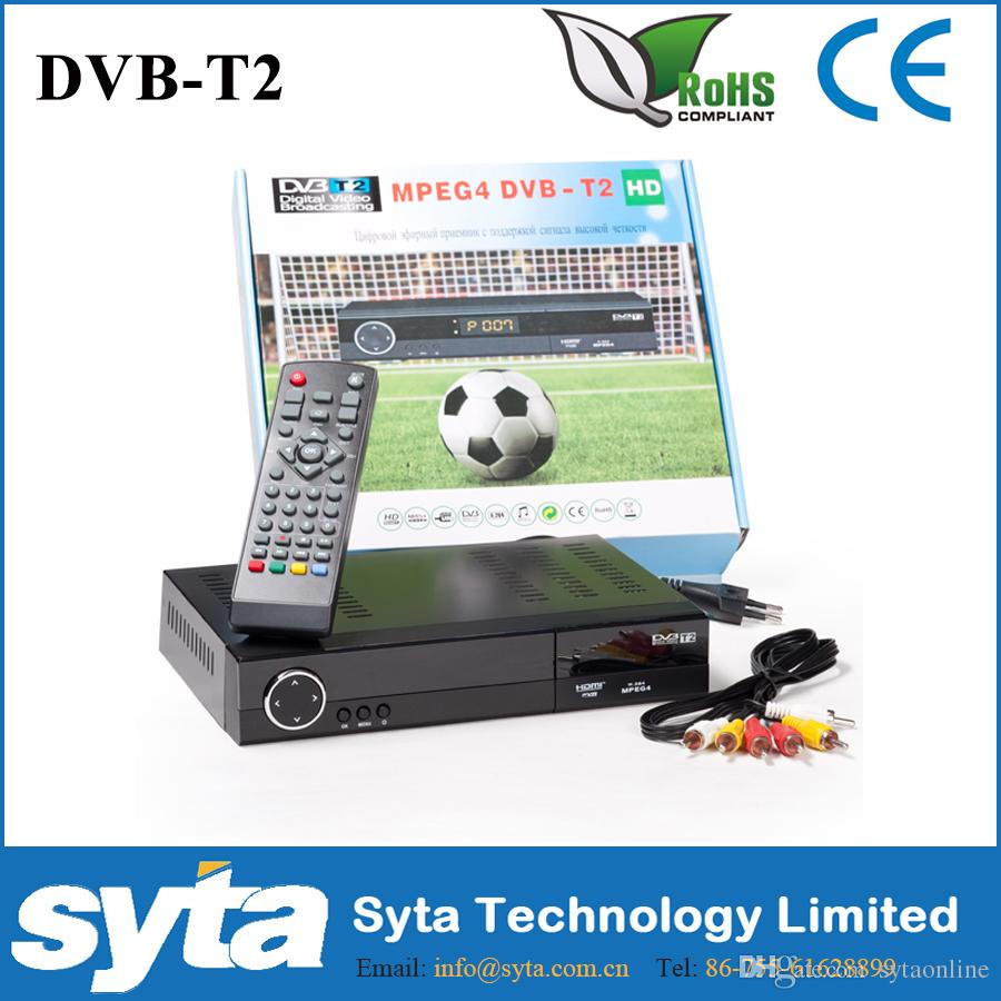 SYTA STB MPEG4 DVB-T2 FTA PVR 1080P Full HD USB Digital TV Receive Set top box DVB T2S1023C
