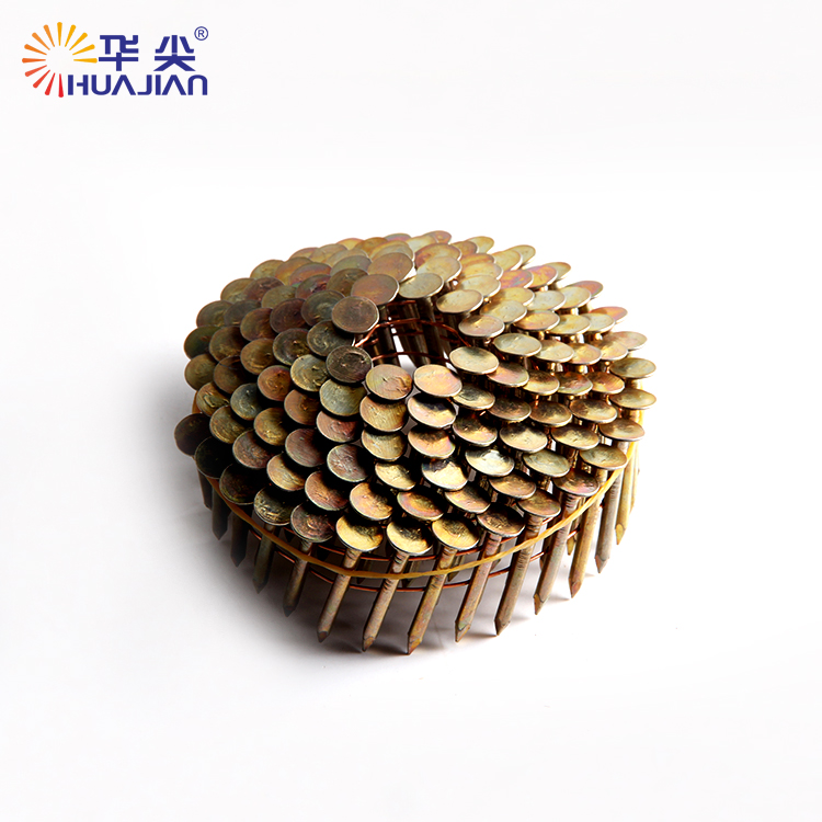 Best-selling good quality wire weld wooden pallet coil nail for pneumatic coil nailer