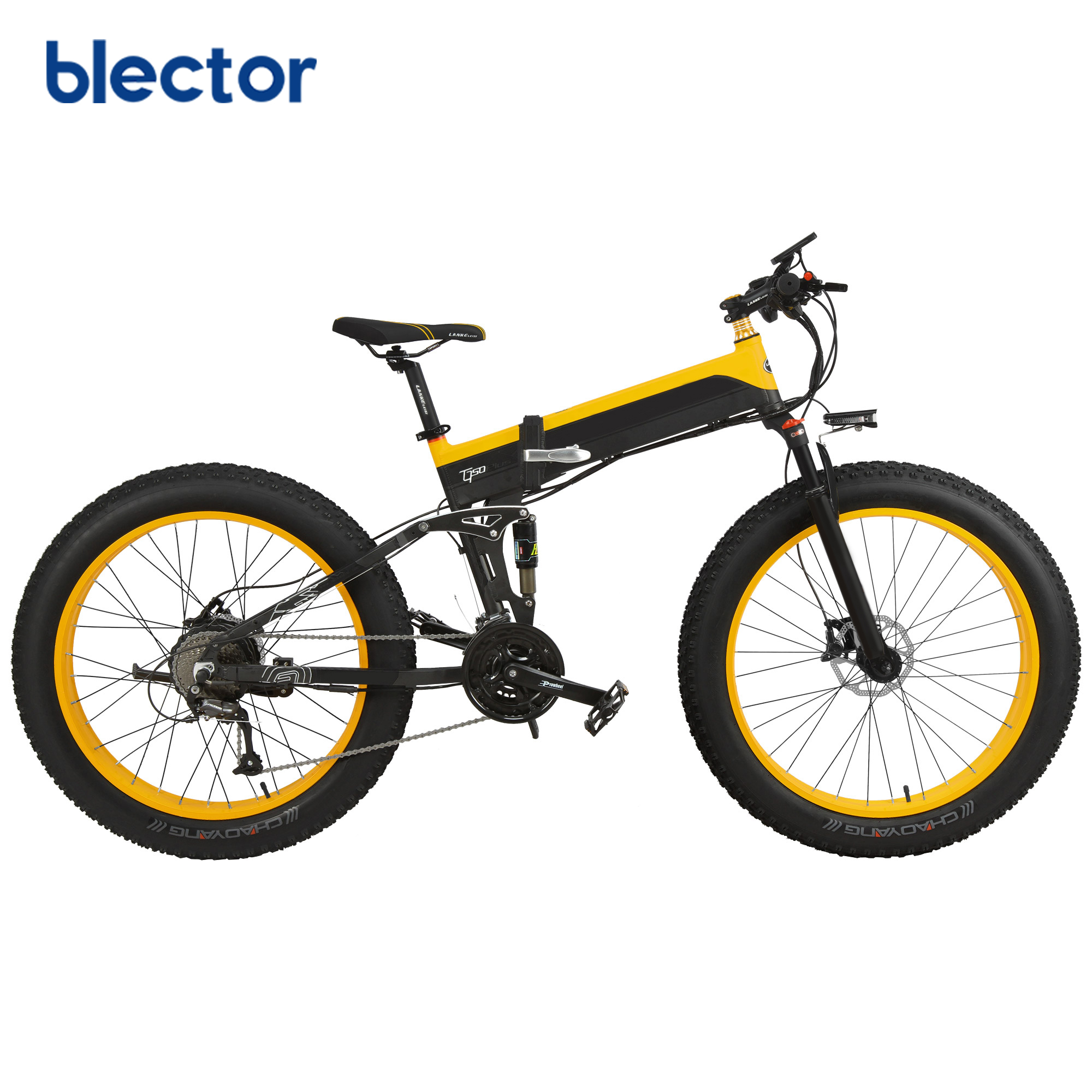 26 inch 1000W Fat Tire Bicycle Electric Bike foldable ebike, Red;yellow;blue;green
