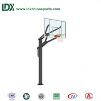 2016 manufacturer basketball stand basketball mount pole