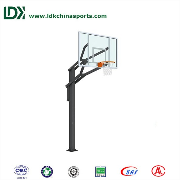 Chinese manufacturer adjustable basketball stand basketball pole