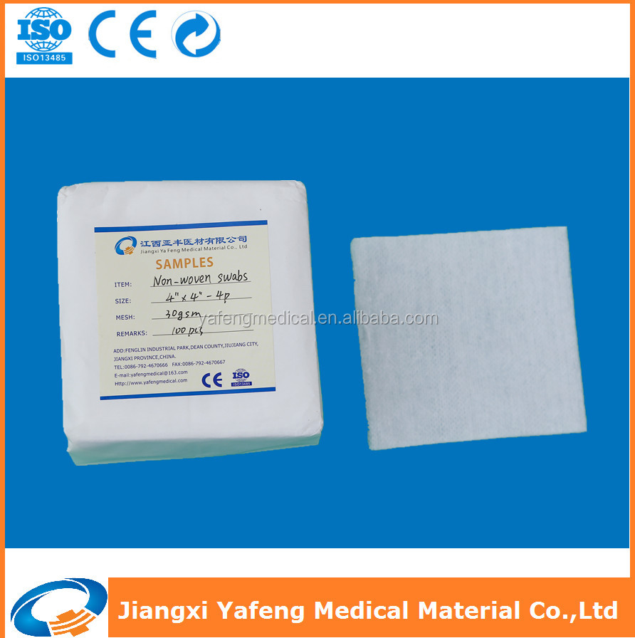 Preferable price non-woven swabs for disposable use