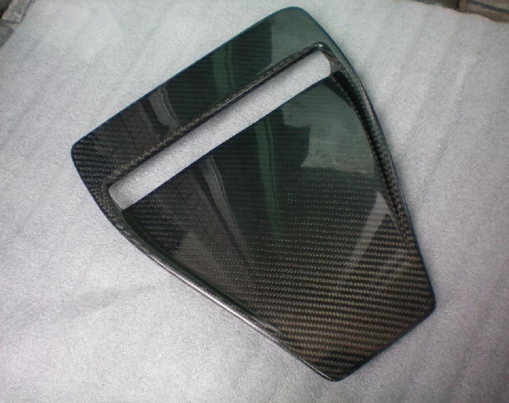 Carbon Fiber Hood Scoop For Mitsubishi Lancer Evolution X EVO X EVO10 2008-2014 NO2