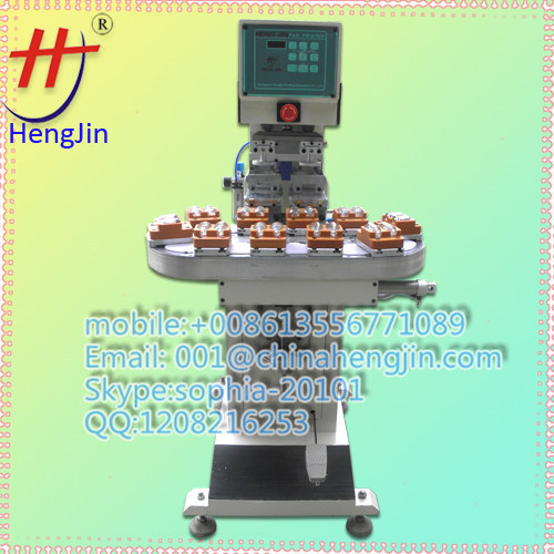 Automaic pad rinting machine for pen with shuttle
