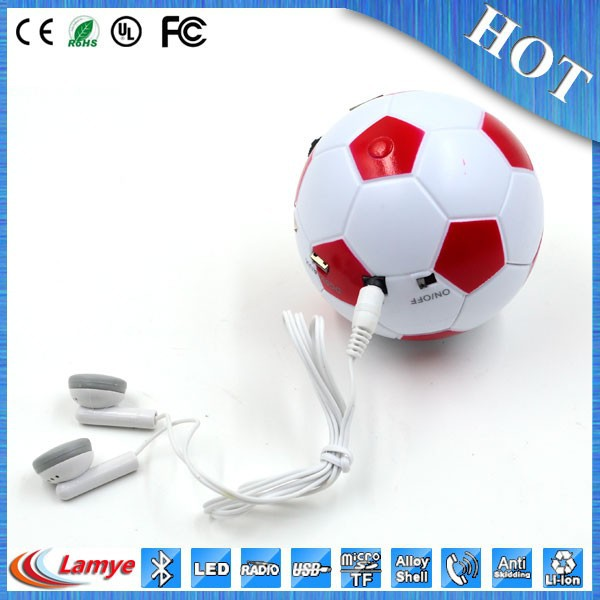 bluetooth disco stereo ball speaker for phone