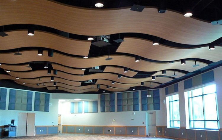 Hospital materials nigeria pop wavy design false ceiling for Different kinds of ceiling design