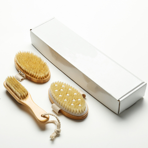 Hot selling long handle wooden bath brush,bath body brush set