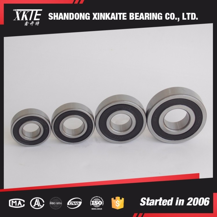 XKTE brand rubber seals deep groove ball Bearing 6310 2RS from china bearing manufacturer
