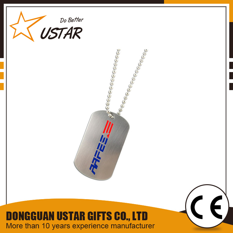 Business Gifts High Quality Metal Xvideo Dog Tag/ ID Tag
