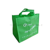 Silver Gift Bag For Shopping And Gift Packing Waterproof Plastic Non Woven Tote Bag