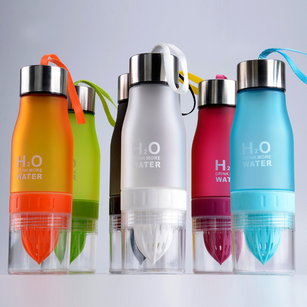 manufacturers eco-friendly plastic tritan bpa free sport water bottle with fruit infuser