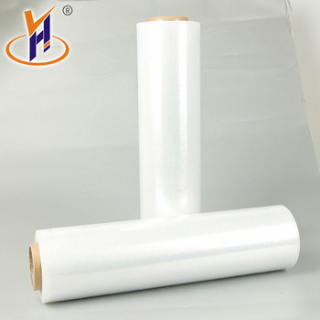 500mm width 80GA 0.8mil thickness custom Classic Design Lldpe Stretch Film Roll/High Transparency Pallet wrapping film