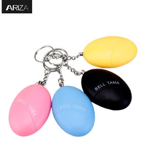 Portable Keyring Defense Personal Alarm keychain Girl Women Anti-Attack Security Protect Alert Emergency panic Alarm