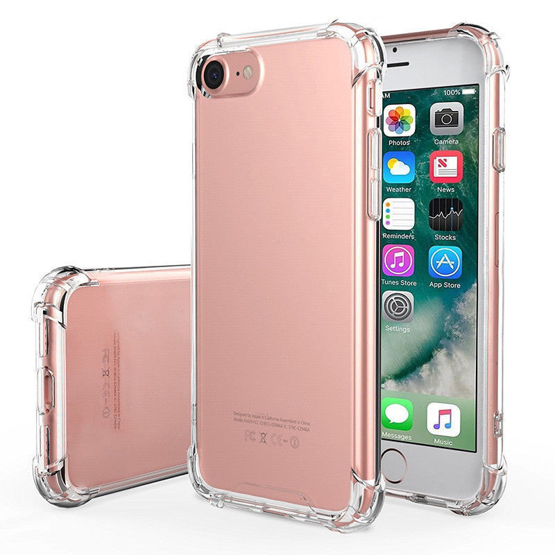 Wholesale Mobile Cell Phone Case Soft TPU Silicone Clear /Transparent Shockproof Case For iPhone X/XS,XS <strong>MAX</strong>,XR,6/7/8/plus
