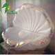 2m Inflatable Shell Float Balloon / Giant Sea Shell Shape / Inflatable Sea Shell With Pearl