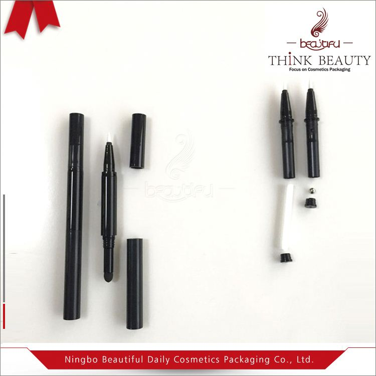 chubby make-up Cosmetic pencil packaging empty Liquid Eyeliner Nail Art pencil best waterproof eyeliner