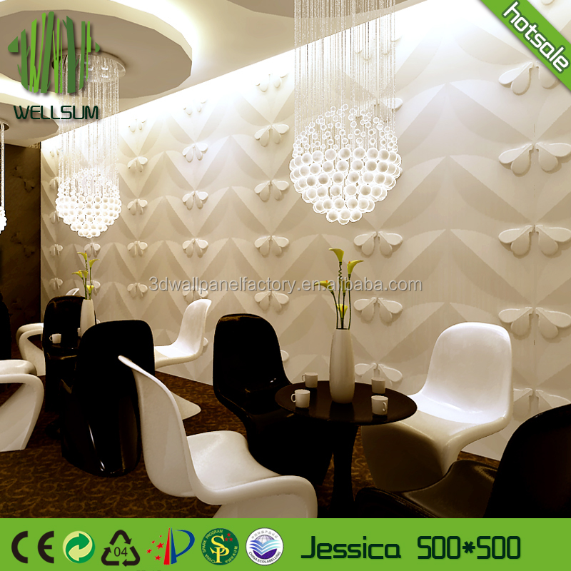 Quality assured distributer wanted hotel 3 d decorative wall panels for home deco