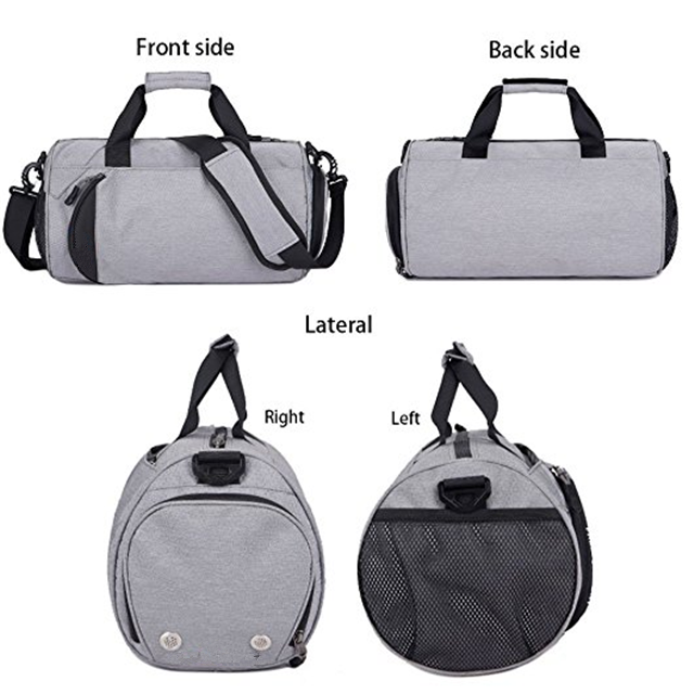 Osgoodway New Product Custom Waterproof Round Sports Business Travel Shoe Bag Organizer for Sports Hiking