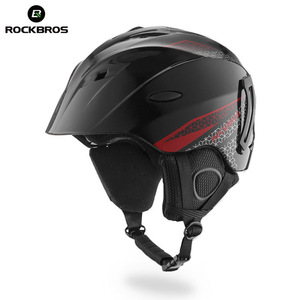 ROCKBROS Wholesale Custom Winter Snow Skiing Skating safety full face Helmet