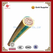NO.0465- Green yellow ground wire Bare or insulated 35mm 50mm 70mm 120mm PVC insulated earthing copper cable