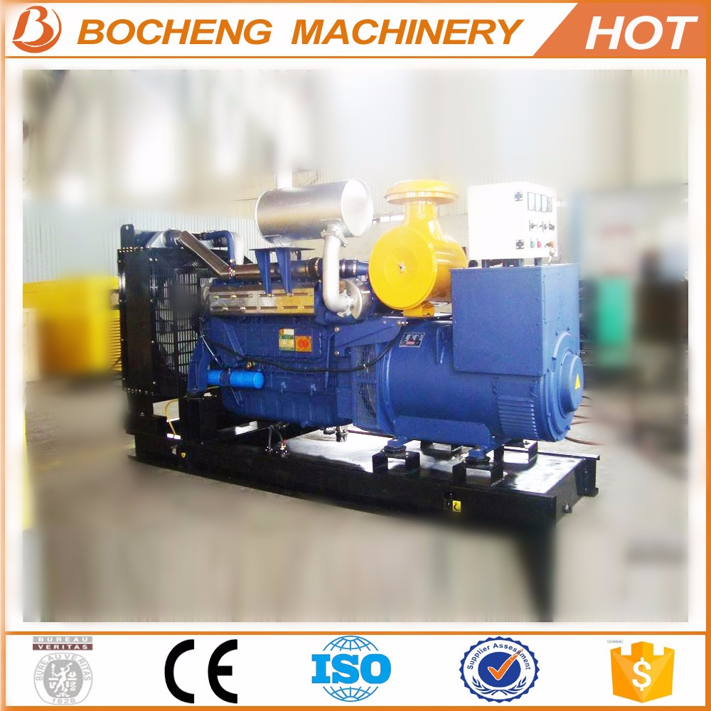high quality CE certificate 800kw generator price list