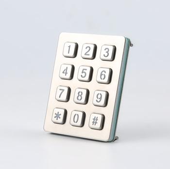 3x4 4x3 Keypad Usb Metal Numeric Keypad Illuminated Numeric Keypad - Buy  Illuminated Numeric Keypad,3x4 4x3 Keypad,Usb Metal Numeric Keypad Product  on