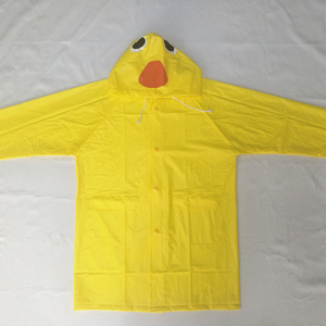 New Design Waterproof PVC 0.13mm Children Raincoat