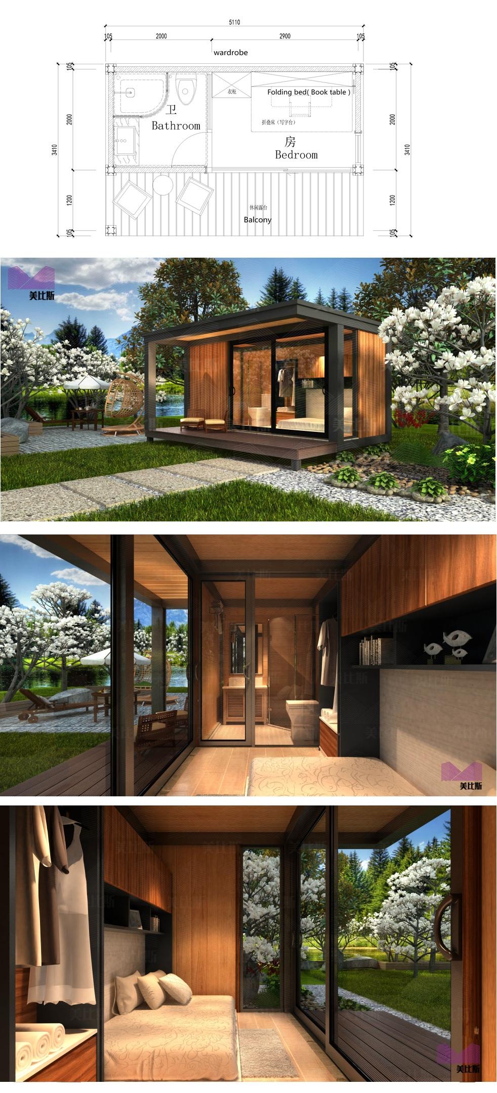 Maisons maisons préfabriquées maison portative philippines à vendre