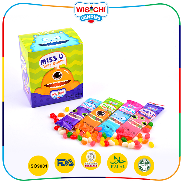 High quality customized jelly candy sweets for wedding gift
