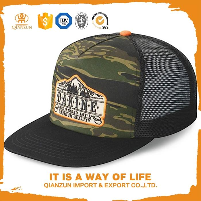 OEM and ODM 3d embroidered solar snapback hat
