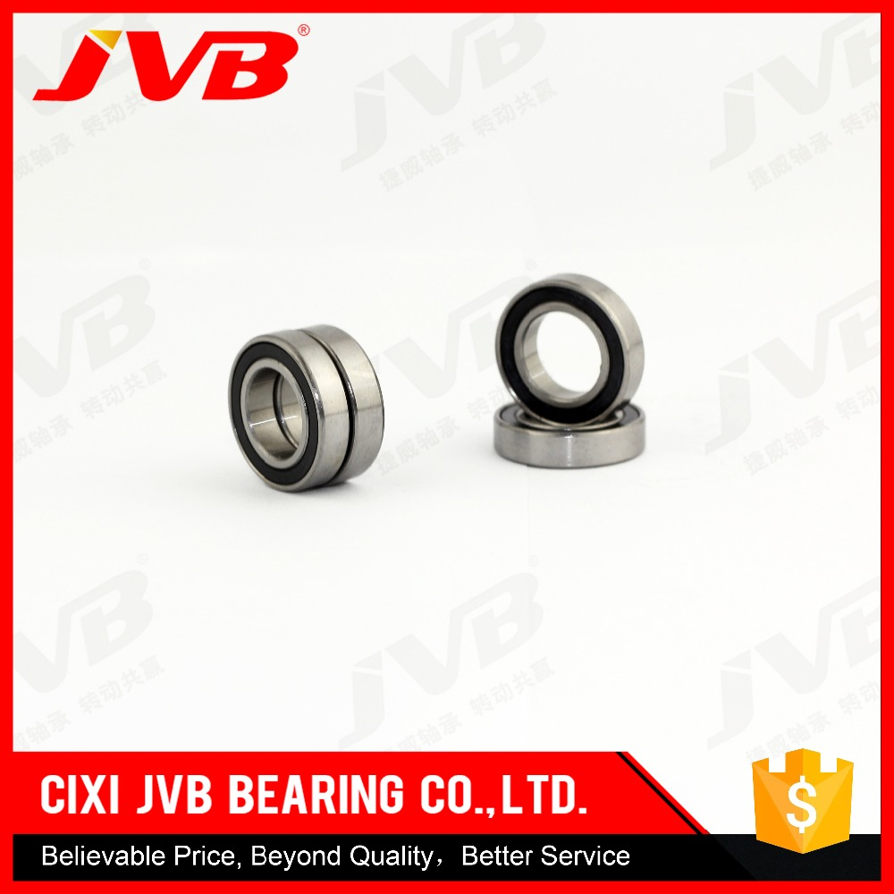 thin wall ball bearing 6801zz/lu 61801 with size 12*21*5mm deep groove ball bearing made in cixi