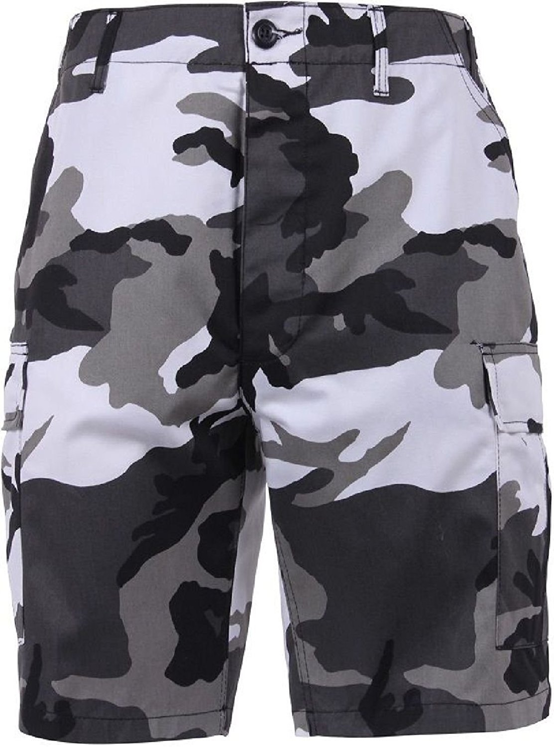 cff35b7addb Get Quotations · Bellawjace Clothing City Camo Camouflage Military BDU  Combat Cargo Camo Army Shorts