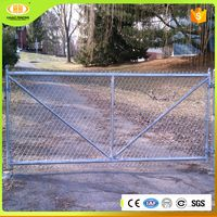 Online shopping temporary stand-alone chain link fence panels for carnival/festival activities