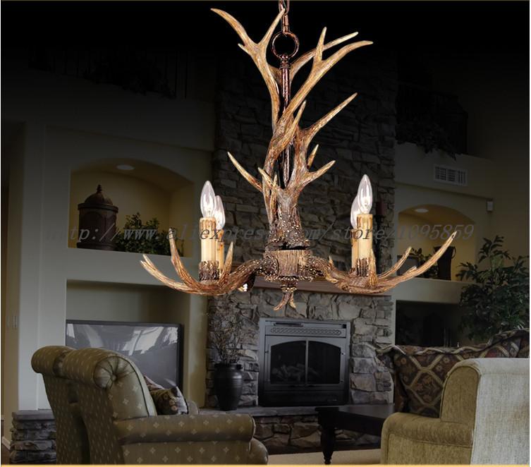 online kaufen gro handel antler chandelier lighting aus. Black Bedroom Furniture Sets. Home Design Ideas