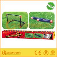 Quick Folding Goal for children outdoor games/Plastic/Easy foldable
