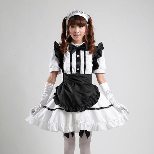 Wholesale Maid Costume Role Playing Cartoon Akihabara Cosplay Maid