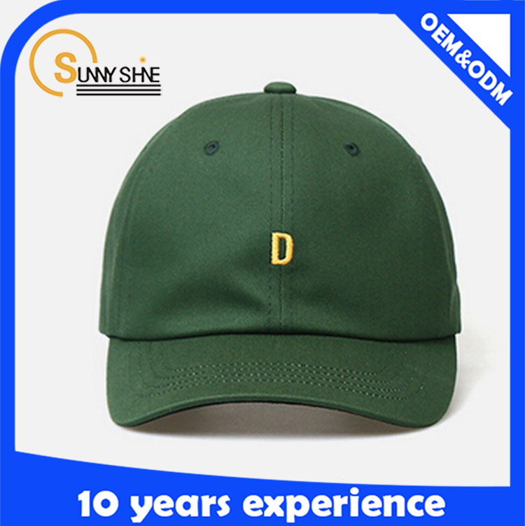 Sunny shine new style product high quality cheap embroidered Promotion Custom pre-cured baseball cap for sport