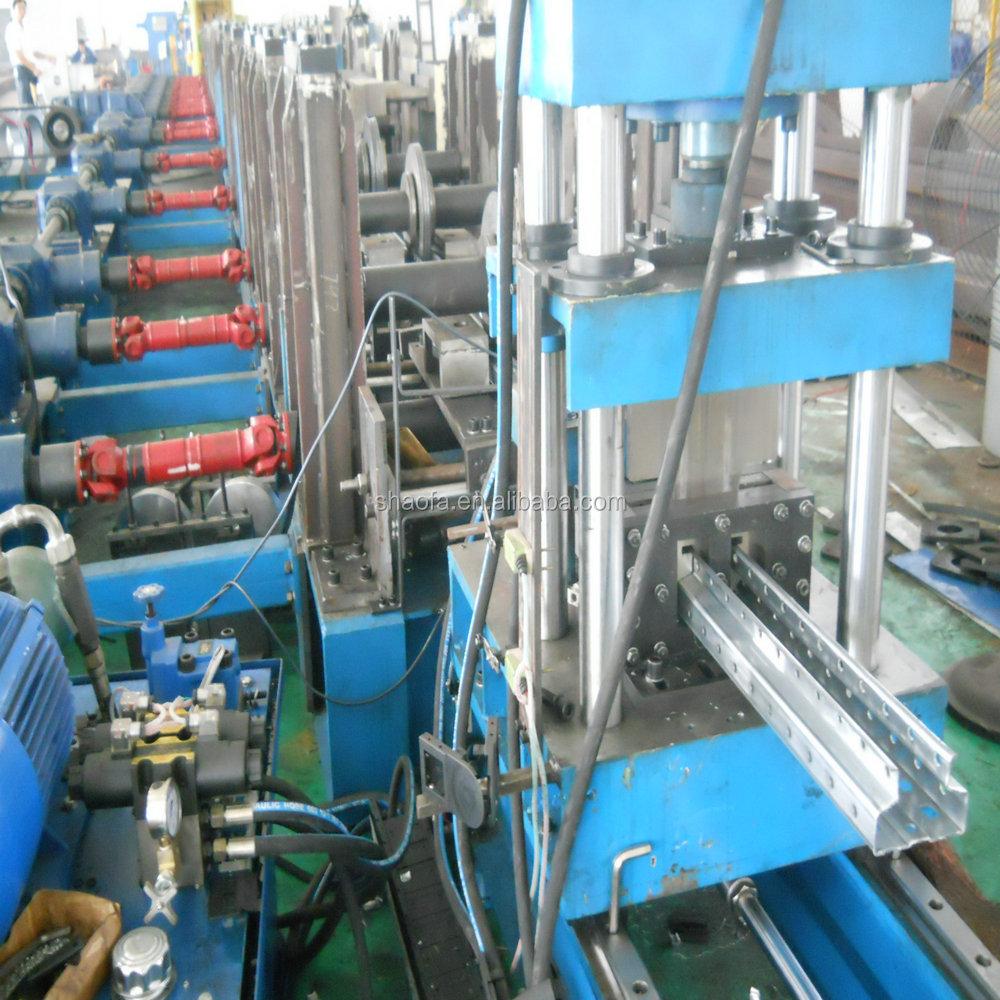 Zinc Metal Solar Panel Bracket Roll Forming Machine Buy